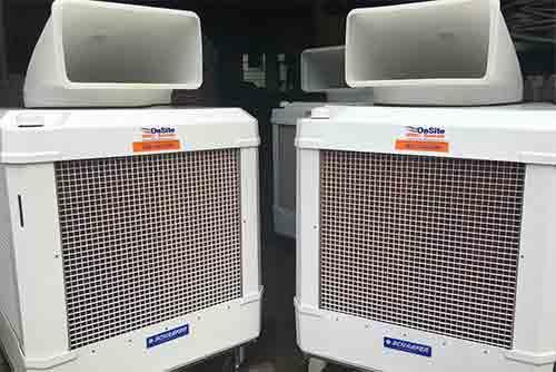 Swamp Cooler Rentals Onsite Hvac Rentals